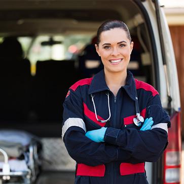 Paramedic woman