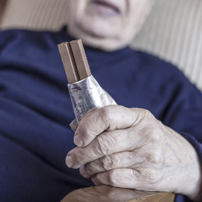 Seniors candy health issues