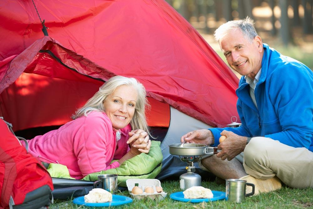 senior camping tips