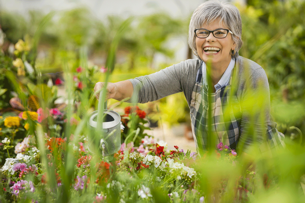 senior gardening tips