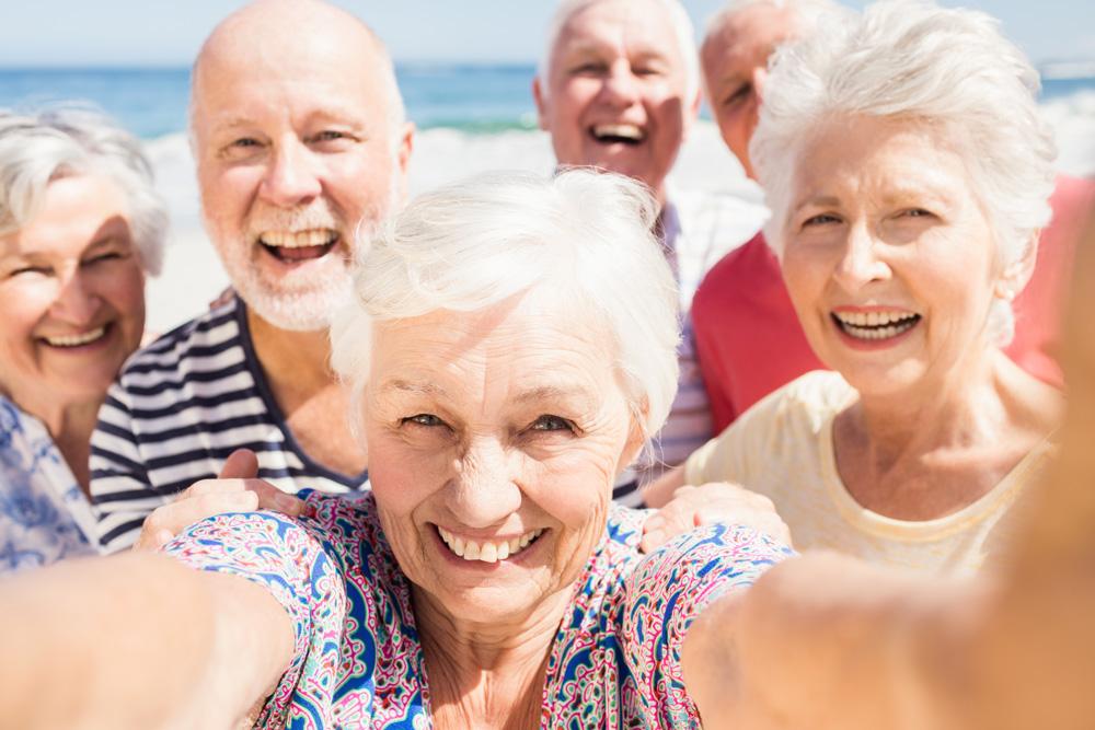 care at home senior social